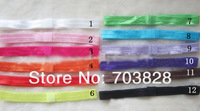 Free shipping solid girls hair bands baby hair bands children's hair bands hair accessories
