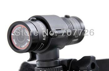 Promotion Mini F9 Ambarella 120degree Full HD 1080p Sport Action Camera with Bike Mount Helmet Bracket 3m Car Holder