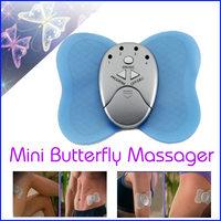 Hot Sell Mini Losing Weight Slimming Butterfly Massager Cheap Body Muscle Fashion Massage 3pcs/lot