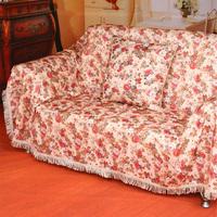 Rustic fabric old fashioned leather sofa towel cover ikbal combination sofa cover full cover towel cushion customize
