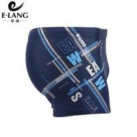 Hot sale 2013 fashion E-Lang big size men's straight boxer swim shorts trunks swimwear swimsuit 3201