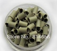 copper micro ring,Copper beads,Copper Tube ,Copper link for Stick tip hair/ Micro ring/loops hair extension, Blonde,1000pcs/lots