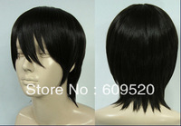 Gintama ! Cosplay Short Black Fashion Man Wig