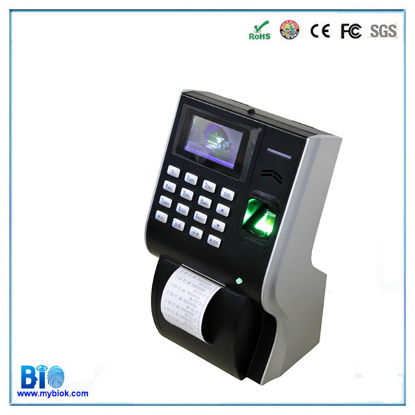 PROMOTION! BiometricTimeTrack Attendance Software with Thermal Printer HF-P10(China (Mainland))