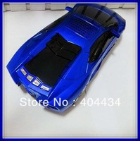Mini model car lamborghini speaker support TF Card  /USB + FM Radio 4 colors Free shipping 10pcs/lot