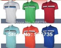 10pcs/lot | Anti-pilling/ anti-wrinkle sports short t shirt Mixed order