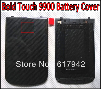 Bold Touch 9900 Battery Door Back Cover Replacement Battery Cover Replace for Blackberry Bold Touch 9900 Black and White