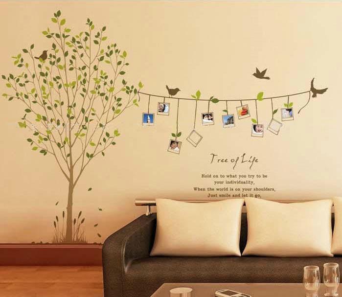 ПВХ стикер стены, Наклейки на стены ...: ru.aliexpress.com/item/cheap-cartoon-animal-tree-bird-photo-life...