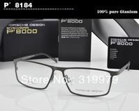 Free shipping 2013 New Promotion 100% Pure Titanium optical frame Full-rim eyeglasses  eyewear frame Men's glassesUltra light