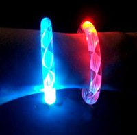 Acrylic flash bracelet colorful bracelet luminous led crystal bracelet concert supplies