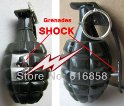Electric Shock Shocking & Flashlight Pistol Handgun Prank Joke Gag Trick Toy(China (Mainland))