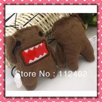 Free shipping Domo kun 7cm doll 100pcs/lot plush toy pendant