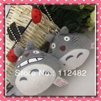 Free shipping TOTORO 6cm 100pcs/lot plush toy pendant