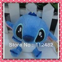 Free shipping the stitich 10cm doll 100pcs/lot plush toy pendant