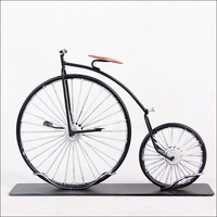0450 Old bicycle model, wrought iron crafts decorations free shipping