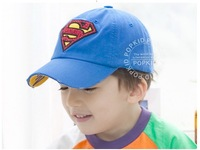 2013 FREE SHIPPNG  Summer Hot sell casual cartoon Baseball cap sunbonnet suitable for children 10pecs/lot  MIXED COLORS