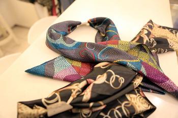 Style nana korean ' all-match bandanas silk scarf 4