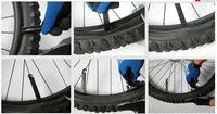 2013 Tire Repair Tools 3pcs/lot Bike Bicycle POM black plastic crowbar repair tool Grilled tire rods-Hot sale [w002048]