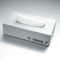 carbon car paper Box Case dedicated  For Mazda 3