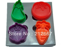 New 2013 cake tools ,3D cookie cutter cake decorating tools free shipping