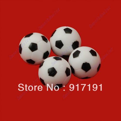 Free Shipping 4pcs/lot 32mm Soccer Table Foosball Ball Football Fussball(China (Mainland))