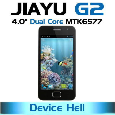 "in stock free shipping original 4.0""JIAYU G2 phone MTK6577 dual core 1.2G 1G RAM 3G Android 4.0 IPS screen Russian spanish(China (Mainland))"