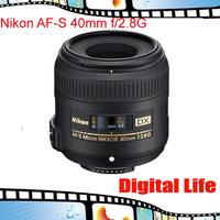 Nikon 40 2.8g Dx Micro Lens Nikkor 40mm f/2.8G AF-S Lens for D3000 D3100 D3200 D5000 D5100 D5200 D90 D7000 D7100 D300 D300s