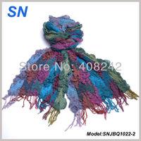 Vintage Bubble Ruffle Yarn Scarves neck warmer