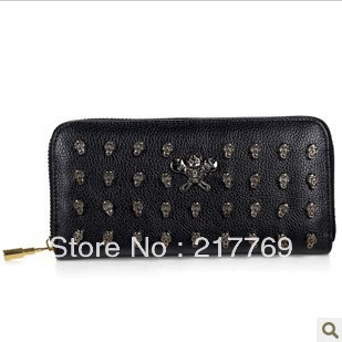 Free Shipping Hot 2013 New Long Section Of Men And Women Purses Wallet Cutch(China (Mainland))