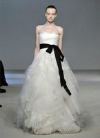 Free Shipping 2013 New Arrival Vera Bridal Wedding Dress,Wedding Gown