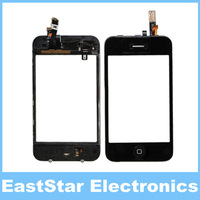 100pcs/lot, Black Touch Screen Digitizer with Proximity Sensor Assembly Replacement For iPhone 3GS,Free DHL/EMS