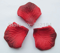 5000pcs New Hot Red change Rose Silk Petal for Wedding favor Favor Festival Decor party Hand Throwing Flowers 50bags 100pcs/bag