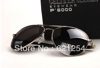 2013 Free shipping Polarized sunglasses male sunglasses mirror driver driving mirror large sunglasses classic glasses