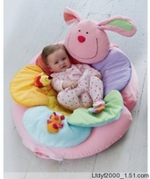 Free shipping Elc multifunctional inflatable game pad baby cushion sofa pink green