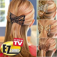 As seen on TV magic stretchable hairpin magic hair maker,fabulous hairstyles instantly,hair braider