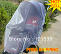 Baby stroller mosquito net plus size widening encryption thickening baby stroller mosquito net wire(China (Mainland))