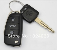 YY7 Wholesale Fathion Cheap Enough Metal Car Key Audi Model  USB 2.0 Flash Memory Stick Drive