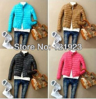 free shipping 2013 new arrive fashion woman down coats Jackets Autumn and winter cotton soft collar Padded-coats QC0096