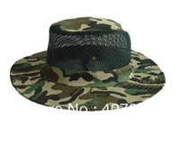 Anti-mosquito Hat with Attached Net Fishing Head Face Protect Insect free shipping