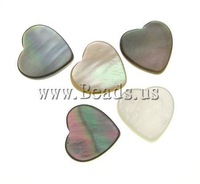 Free Shipping!! 500PCs/Lot Cheap Vintage heart Shell Cabochons 8x1.8mm for Jewelry & Mobilephone Decoration Wholesale 2013