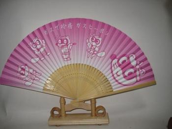 Accessories folding fan double faced paper fan 2pcs/lot