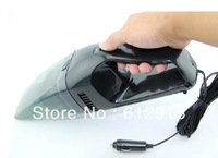 DC 12V 60W Car cleaner portable Handheld Vacuum High-Power auto Clean mini accessories dry wet amphibious Free Shipping