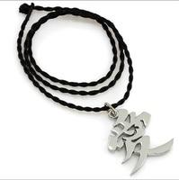 Anime Naruto Gaara Pendant Metal Pendant Necklace Cosplay