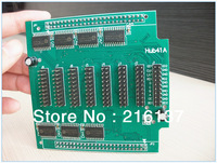 Free Shipping 20pin & 50pin holes RGB Full Color LED Display Conversion Card Hub41A Adaptor Extension Card