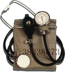 High quality hemomanometer blood pressure meter medical blood pressure watch stethoscope confers(China (Mainland))