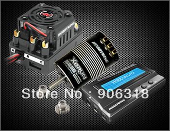 XERUN 4000KV 120A ESC & LCD Program Box Combo Sensored Brushless Motor 3656SD SCT PRO-C2