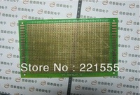 High quality CNC universal circuit board testing of glass fiber plate hole plate green oil universal Board 9*15CM