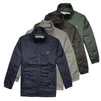 Fashion single mont men's clothing thin casual wadded jacket