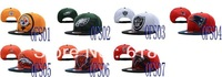 Free shipping-Over Flock Snapback Hats,Football adjustable caps,20PCS/LOT