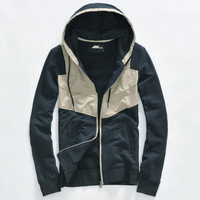 Spring and autumn cardigan sweatshirt male with a hood sports sweatshirt 2013 spring outerwear male top